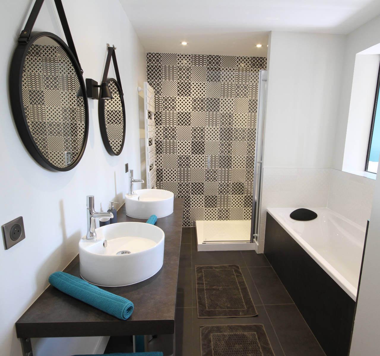 Opérie - Chambre Terre d'argile - salle de bain