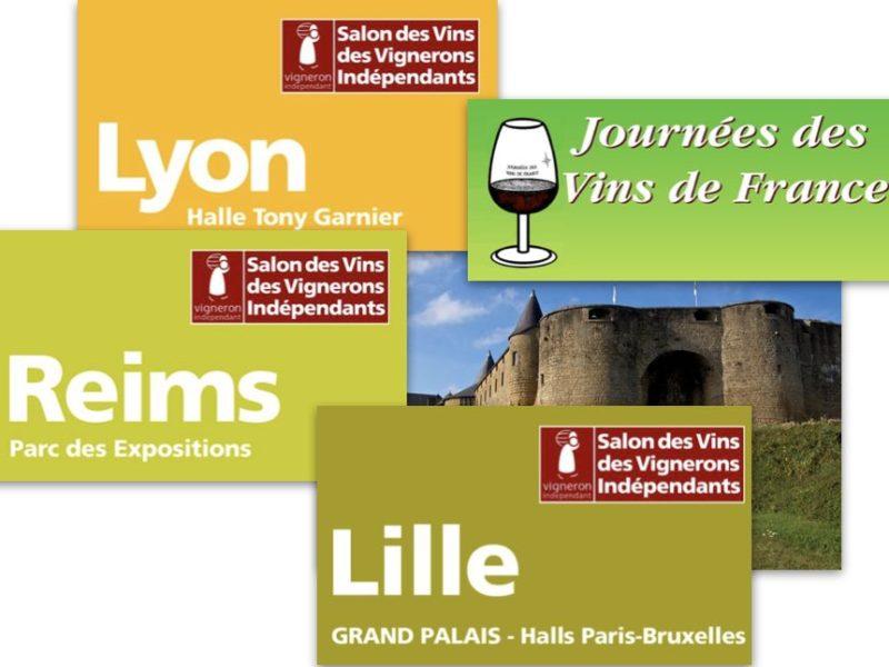 salons vignerons indépendants vignboles Poitou Opérie
